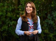 Kate Middleton à la campagne : gros bonnet, doudoune et rare selfie, la duchesse surprend
