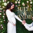 Julia Paredes a epousé son compagnon Maxime Parisi le 23 janvier 2021 - Instagram
