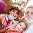 Julia Paredes et son compagnon Maxime Parisi attendent leur deuxième enfant ensemble - Instagram