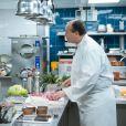 """Exclusif - Marthe Villalonga et Jean Leduc - Enregistrement de l'émission """"Le Grand Restaurant"""" à Paris, qui sera diffusée le 3 février 2021 sur M6. © Jean-Philippe Baltel / Bestimage"""