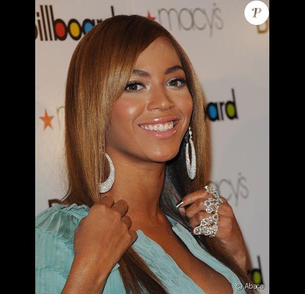 Beyoncé aux Billboard Music Awards en octobre 2009