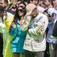 """Kim Kardashian et Kanye West - Défilé de mode printemps-été 2019 """"Louis Vuitton"""" à Paris. Le 21 juin 2018 © Olivier Borde / Bestimage"""