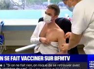 """Olivier Véran vacciné contre la Covid -19 et entre de bonnes mains : """"Vous avez été formidable"""""""