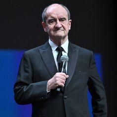 Pierre Lescure, le président du Festival de Cannes, durant la soirée d'ouverture du Special Cannes Film Festival 2020 au Palais des Festivals à Cannes, le 27 octobre 2020. © Bruno Bebert/Bestimage