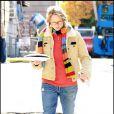 """""""Jodie Foster sur le tournage de The Beaver, à New York. 20/10/09"""""""