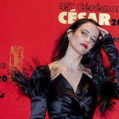 Eva Green - Photocall du dîner de la 45ème cérémonie des César au Fouquet's à Paris. Le 28 février 2020 © Pierre Perusseau / Bestimage