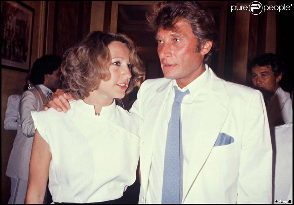 Nathalie Baye et Johnny Hallyday au mariage d\u0027Eddie Barclay en 1984 !