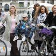Myriam Seurat et Valérie Alexandre au Green Ride de Paris (25 octobre 2009)