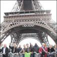 Tous les présentateurs météo au Green Ride de Paris (25 octobre 2009)