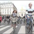 Myriam Seurat au Green Ride de Paris (25 octobre 2009)
