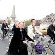 Valérie Alexandre au Green Ride de Paris (25 octobre 2009)