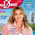 """Ingrid Chauvin fait la couverture du nouveau numéro du magazine """"Nous Deux"""""""