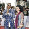Jermaine Jackson et son épouse Halima Rashid à l'avant-première de This is it à Los Angeles, le 27 octobre 2009 !