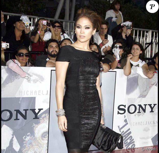 Jennifer Lopez à l'avant-première de This is it à Los Angeles, le 27 octobre 2009 !