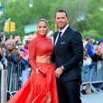 Jennifer Lopez et son fiancé Alex Rodriguez aux CFDA Fashion Awards à New York, le 3 juin 2019.