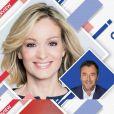 """Audrey Crespo-Mara invitée de Bernard Montiel sur RFM pour son émission """"Une heure avec"""" le 20 mars 2021."""
