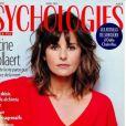 """Faustine Bollaert fait la Une de """"Psychologies"""", le 24 mars 2021"""