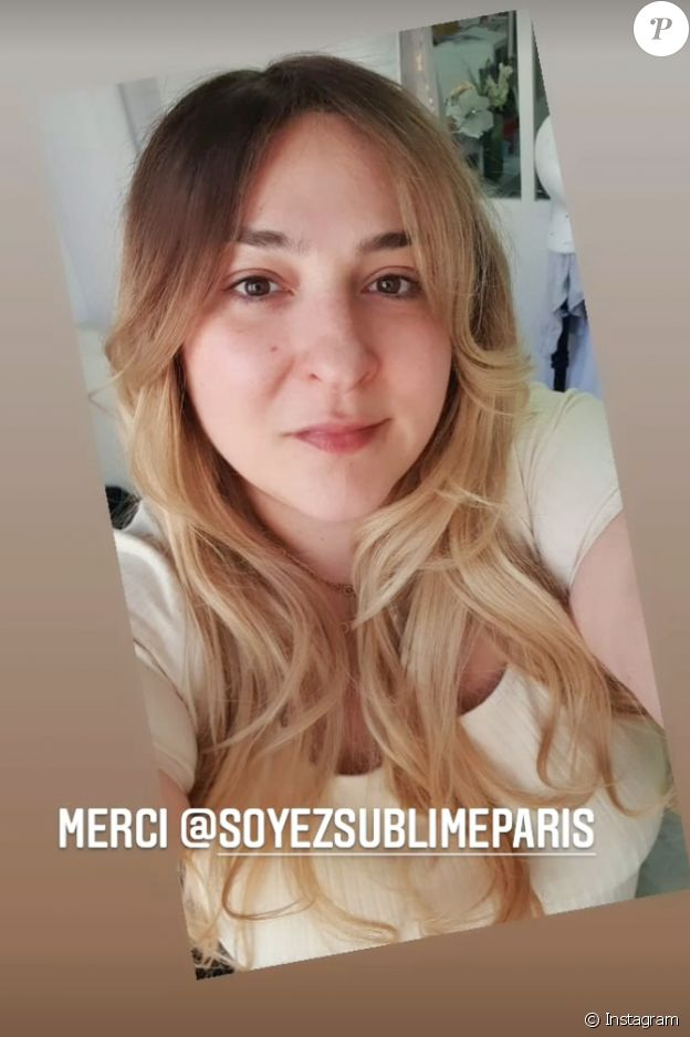 Marilou Berry dévoile sa nouvelle coupe de cheveux sur Instagram, le jeudi 25 mars 2021.