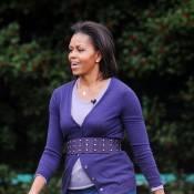 Michelle Obama : après Glamour, elle a vite retrouvé... ses baskets !