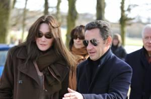Carla Bruni-Sarkozy : c' est confirmé, elle fera sa première sortie officielle le 10 mars...