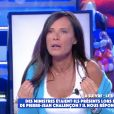 """Nathalie Marquay révèle avoir mis sa fille Lou à la porte dans """"Touche pas à mon poste"""" - C8"""