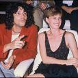 Julein Clerc et Miou-Miou à la première du film  Le dernier métro  à Paris en 1980.