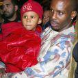 DMX et son fils en 2003.