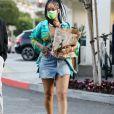 Rihanna est allée faire des courses au Bristol Farms à Beverly Hills, Los Angeles, le 29 mars 2021.