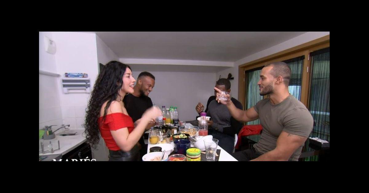 Mélina et Yannick (Mariés au premier regard 2021) : Dîner sous haute tension et incompréhensions