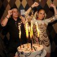 Jennifer Lopez et son ex-compagnon Beau Smart à Miami, en juillet 2013.