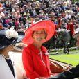 """Lady Penny Romsey - La famille royale d'Angleterre au 2ème jour de la course hippique """"Royal Ascot"""", le 18 juin 2014."""