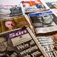 Illustration de diverses magazines britanniques suite au décès du prince Philip, duc d'Edimbourg. Le 10 avril 2021