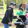 Exclusive - Zara Tindall aux Cirencester Park International Horse Trials avec son fils Lucas.