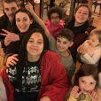 Anne Alassane avec sa belle et grande famille, le 6 janvier 2020