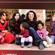 La famille d'Anne Alassane