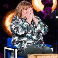 """Exclusif - Michèle Bernier - Enregistrement de l'émission """"La Boîte à Secrets 8"""", présentée par F.Bollaert © Tiziano Da Silva / Bestimage"""