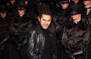 Jamel Debbouze, le futur papa Dany Brillant, Kamel Ouali, Sylvie Vartan et son mari... ont vibré pour Zorro !