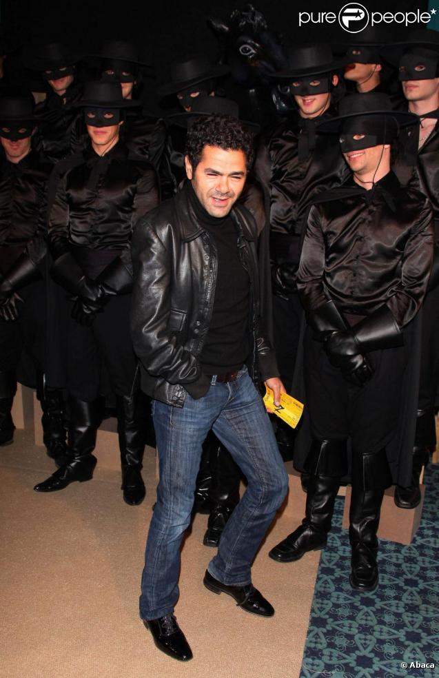 Jamel Debbouze à la première VIP de la comédie musicale Zorro. 05/11/09
