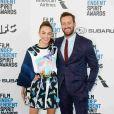 Elizabeth Chambers et sa femme Armie Hammer à la soirée Film Independent Spirit Awards à Santa Monica, le 23 février 2019