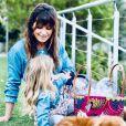Laetitia Milot et sa fille Lyana (3 ans) sur Instagram. Avril 2021.