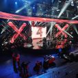 Le plateau du direct de X-Factor