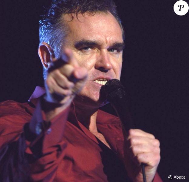 Morrissey contrarié !