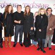 Toute l'équipe du film, lors de l'avant-première de  Trésor , au Gaumont Opéra, à Paris, le 9 novembre 2009.