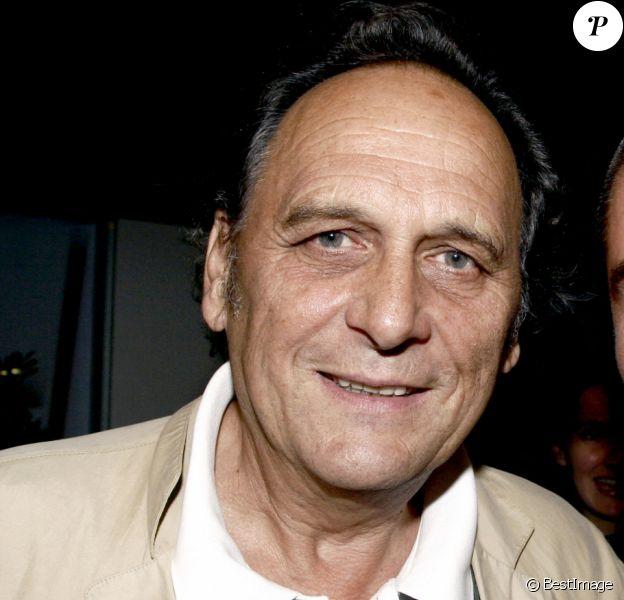 Jean-Claude Caron et Anthony Dupray à la projection de Roger Hanin, toute une vie à France Télé