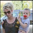 Britney Spears et l'un de ses fils