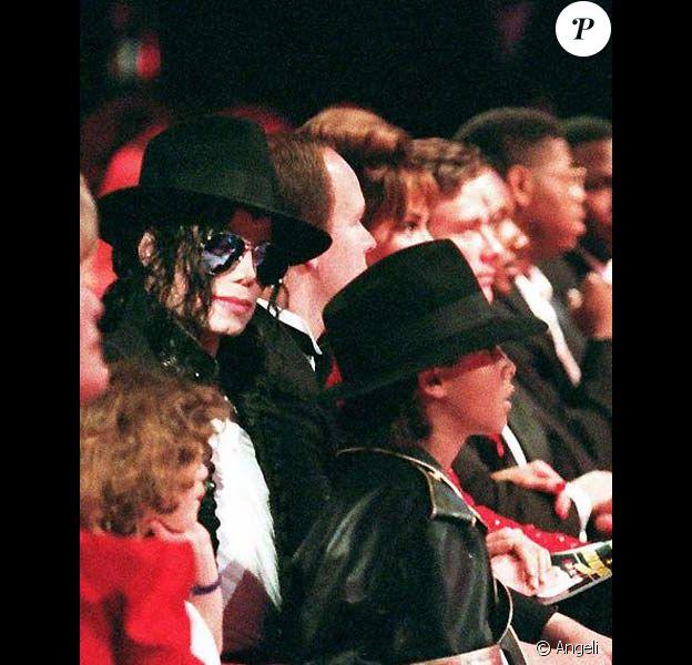 Michael Jackson et Jordan Chandler à Monaco en mai 1993