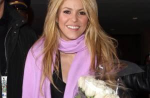 Shakira : Elle brave le froid pour enflammer... la scène !