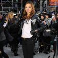 Miranda Kerr, la beauté australienne, a fait chavirer New York le 18/11/09