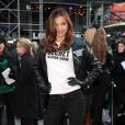 Miranda Kerr en cuir et slim à New York : un ange sexy pour Victoria's Secret le 18/11/09