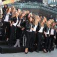 Les beautés de Victoria's Secret ont posé pour la marque en plein coeur de New York le 18/11/09